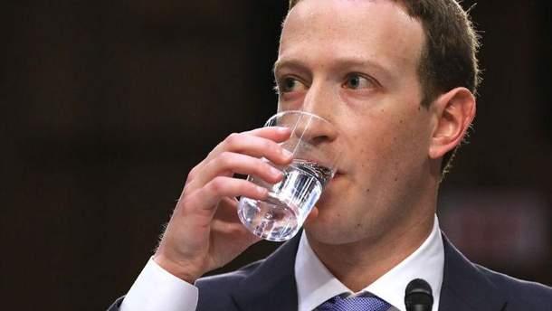 Марк Цукерберг знову дає свідчення