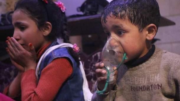 ВООЗ повідомила про щонайменше 500 постраждалих від хімзброї у Сирії
