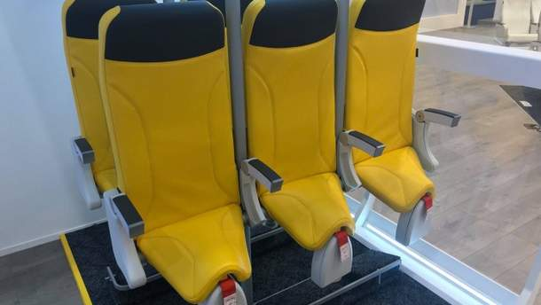 Італійська компанія презентувала  унікальні крісла для літаків