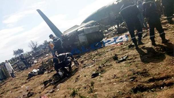 Авиакатастрофа в Алжире 11 апреля