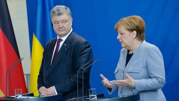 Меркель считает, что Украина должна сохранить статус транзитной страны