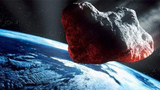 Астероид (иллюстрация)