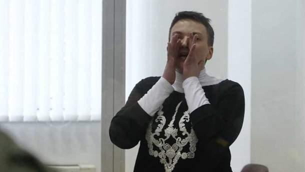 Надежда Савченко находится в СИЗО с 23 марта