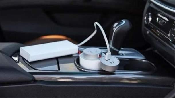 Автомобільна зарядка для ноутбуків Mi Car Inverter
