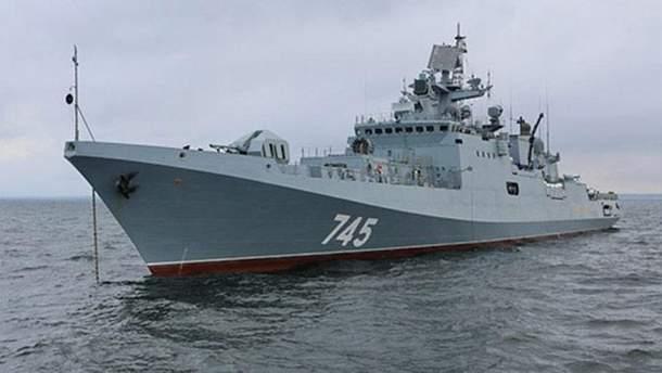 Россия вывела военные корабли из сирийского порта