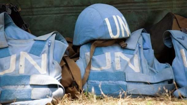 Погиб миротворец ООН