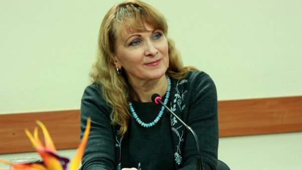 Ирен Роздобудько перестала говорить по-русски и перешла на украинский язык
