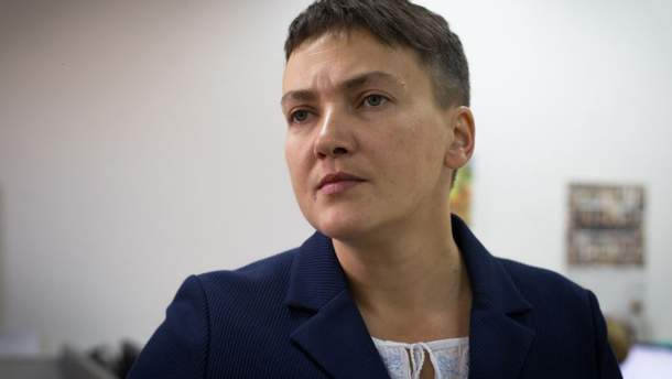 Савченко продовжує голодування