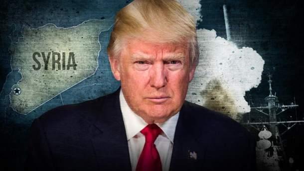 Трамп може відмовитись від військового розвитку подій у Сирії