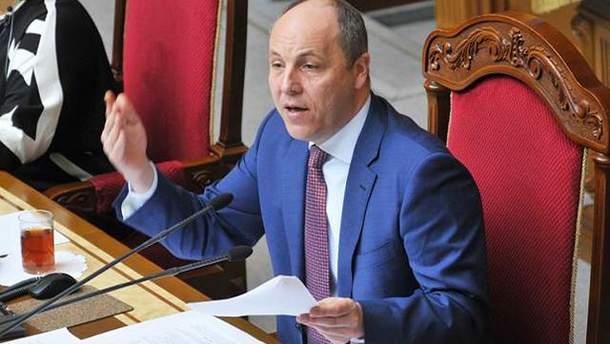 """Парубій назвав дозвіл ЄС на будівництво """"Північного потоку-2"""" ударом по Україні"""