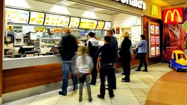 McDonald's впервые закрыл ресторан в Украине
