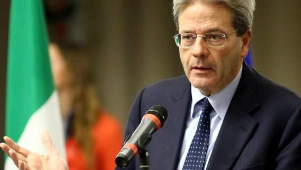 Премьер-министр Италии Паоло Джентилони