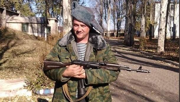 """Проросійський бойовик Олександр Новіков на прізвисько """"Товстий"""""""