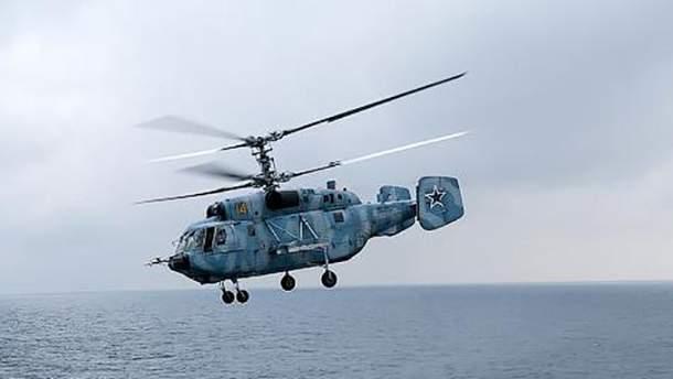 У Росії над морем впав військовий вертоліт