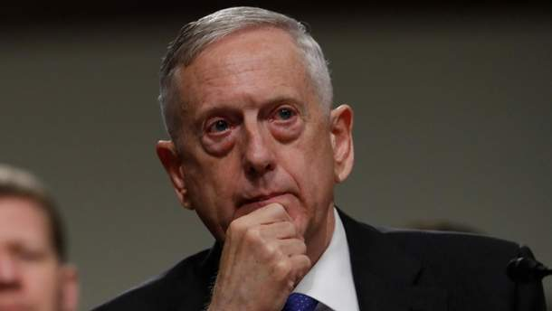 Джеймс Меттіс застерігає від негайного удару США по Сирії