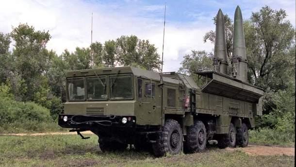 """Россия разместила на границе с Украиной """"Искандеры"""""""