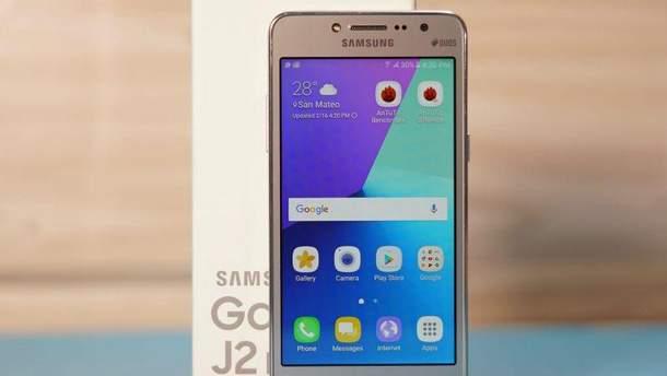 Новий смартфон Samsung Galaxy J2 Pro