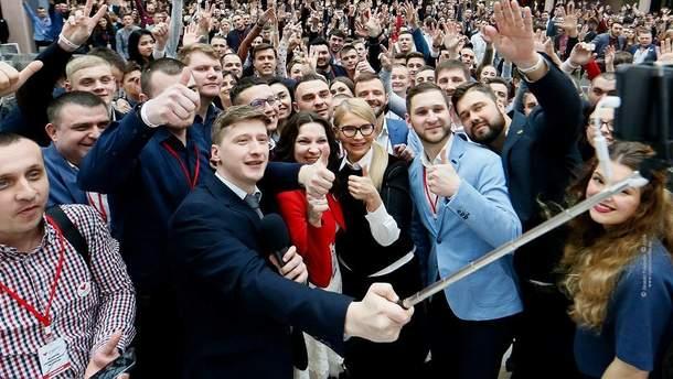 Фото Тимошенко на обложке ее новой страницы в Facebook