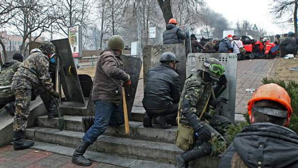 """У справі розстрілу на Інститутській 20 лютого 2014 року судять п'ять колишніх бійців """"Беркуту"""""""