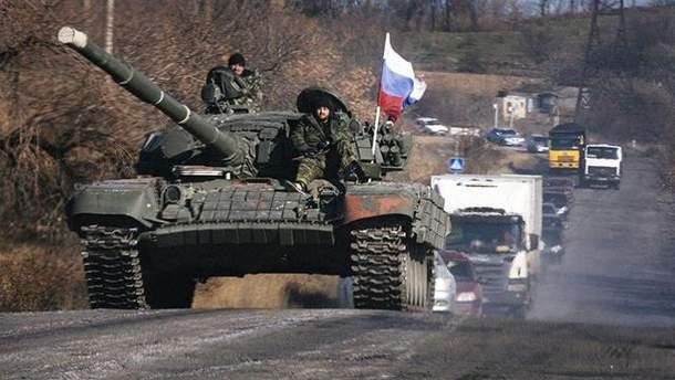9 мая в Луганск зайдет много военной техники оккупантов