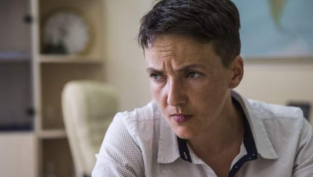 СБУ перервала перевірку Савченко на детекторі брехні