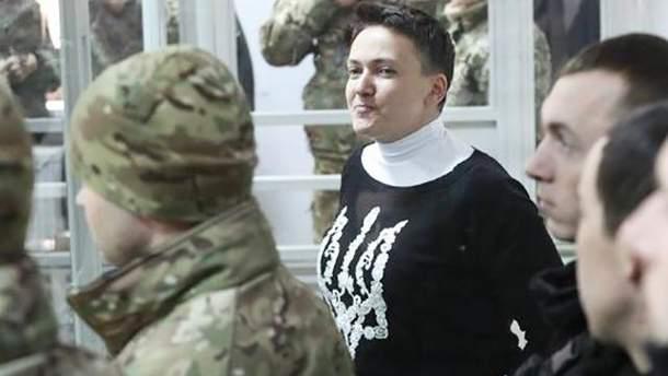 Савченко призупиняє голодування