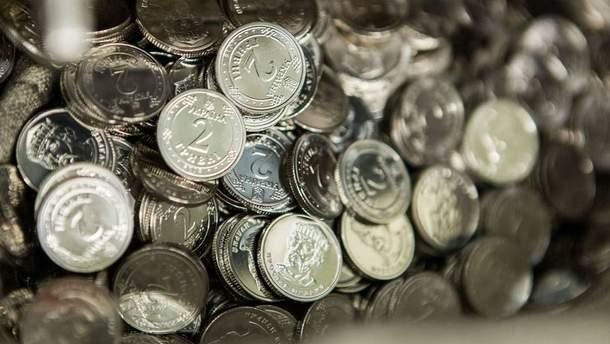 Как будут выглядеть монеты номиналом 1 и 2 гривны