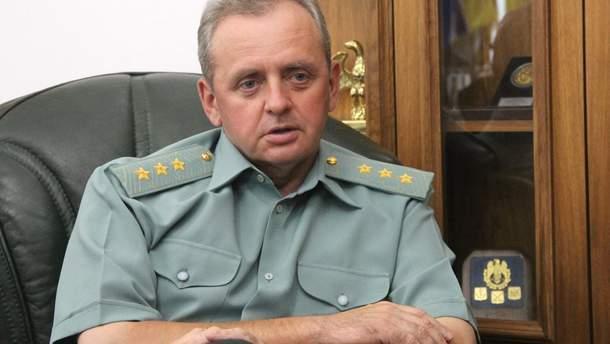 Виктор Муженко знает о возможном вторжении России в Украину осенью 2018 года