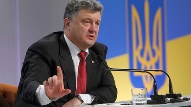 Президент Порошенко попросил генерального секретаря ООН направить вДонбасс оценочную миссию помиротворцам