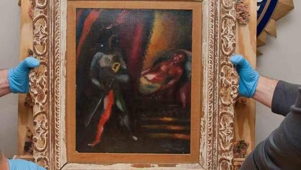 """Викрадену 30 років тому картину """"Отелло та Дездемона"""" знайшли"""