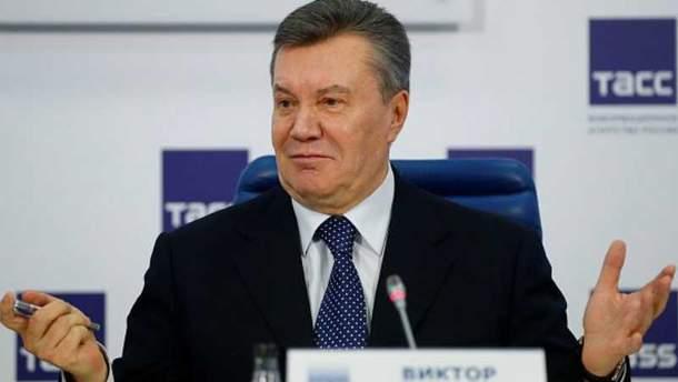 Янукович вшоке: Экс-президенту невыплатили компенсацию за английских юристов
