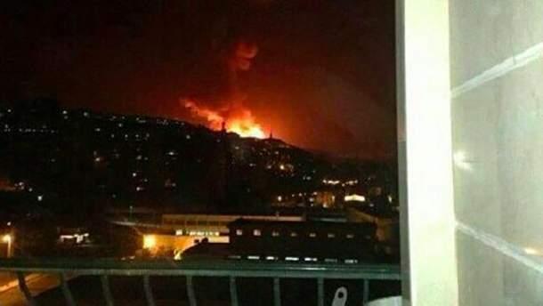 Фото ударов по Сирии 14 апреля