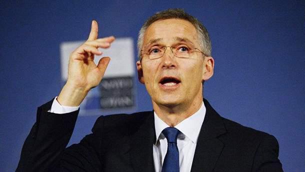 Генсек НАТО Єнс Столтенберг підтримав удари по Сирії