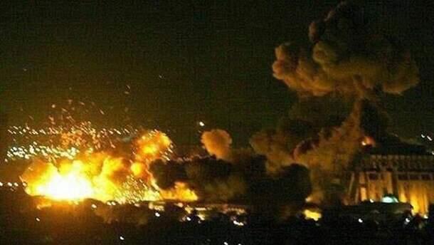 В результате атаки по Сирии пострадали гражданские