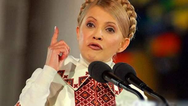 Facebook заблокував сторінку Тимошенко
