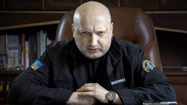Турчинов прокомментировал удары по Сирии