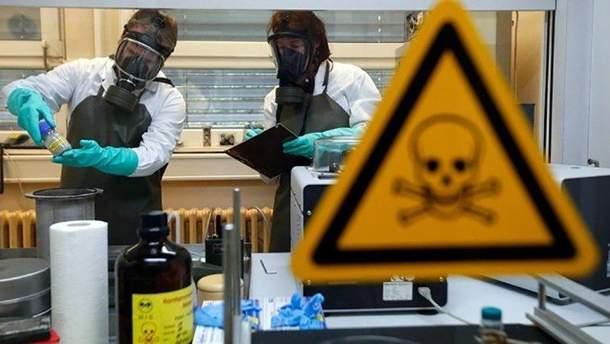 Разработка химического оружия в Сирии