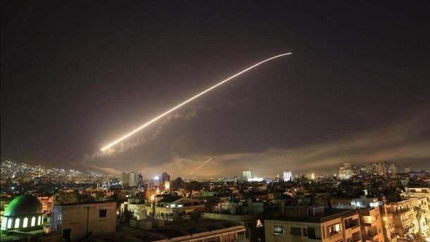 Ракетный удар по Сирии: все детали военной операции