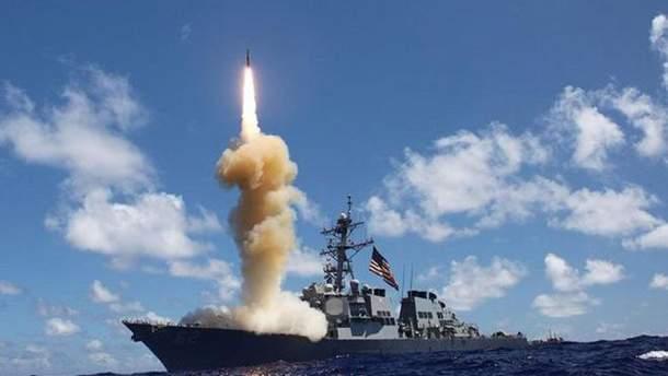 Удар США, Франции и Великобритании по Сирии