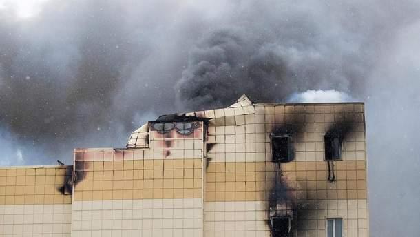 З палаючого ТЦ у Кемерові можна було вибратися лише перші 5 хвилин