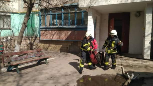 Пожар в Мариуполе