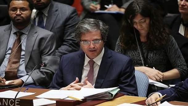 Франсуа Делатр обнародовал четыре пункта для прекращения сирийского конфликта