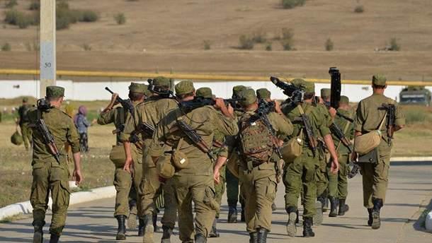 """Представники """"Збройних Сил Абхазії"""""""