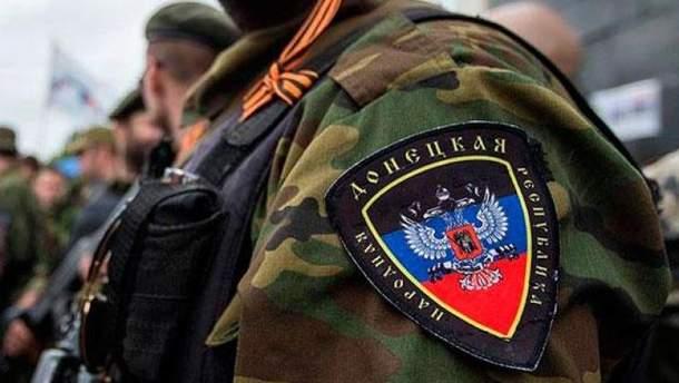 Российские оккупанты на Донбассе