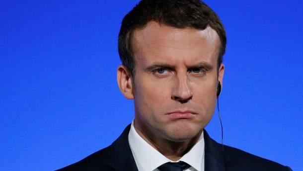 За останні 10 місяців вдвічі збільшилась кількість незадоволених політикою Макрона французів