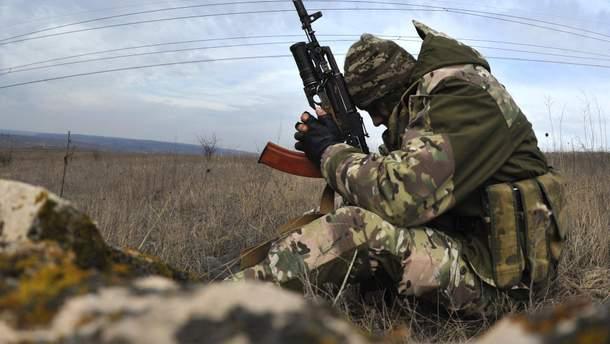 Российские оккупационные силы передали тело погибшего украинского военного