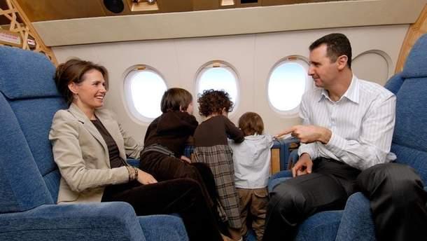 Діти Асада їздили на відпочинок у Крим