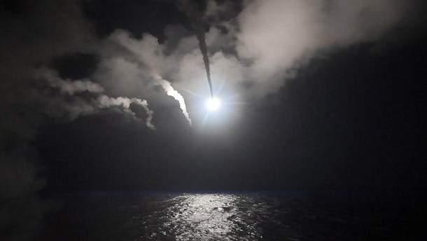 Ракетний удар по Сирії