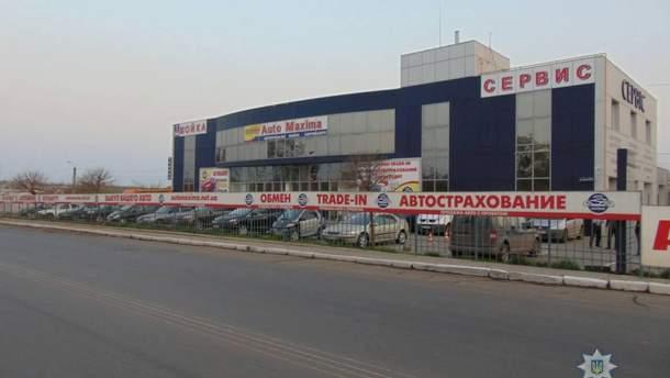 В автосалоне в Николаеве взорвалась граната