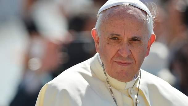 Папа Римський просить людей молитися за мир у Сирії